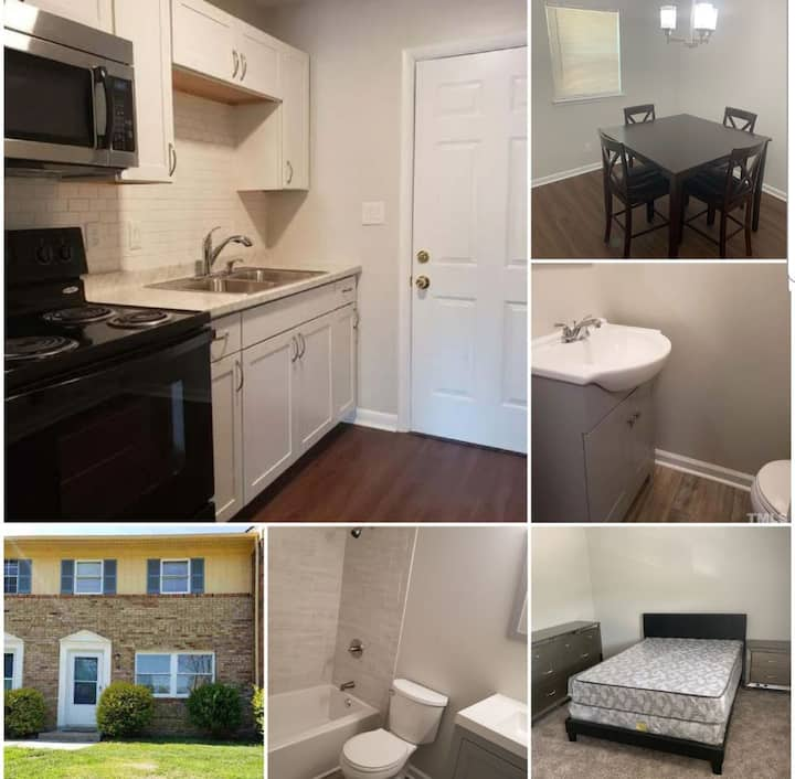 Greensboro 3 Bed Townhouse near UNCG and Hospital