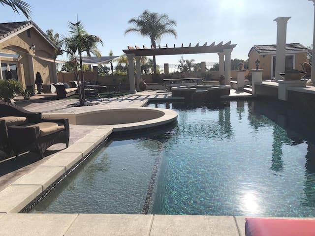 Pool House Oasis