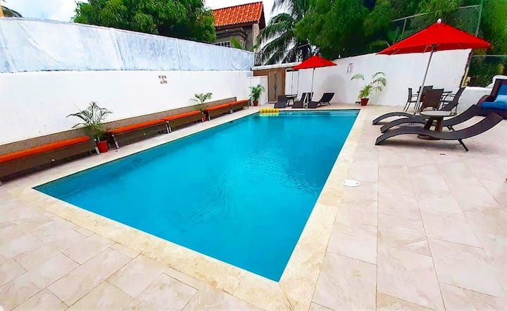 SERENITY HAVEN- NEW✔CENTRAL✔ OWN POOL✔ HOTEL FEEL✔
