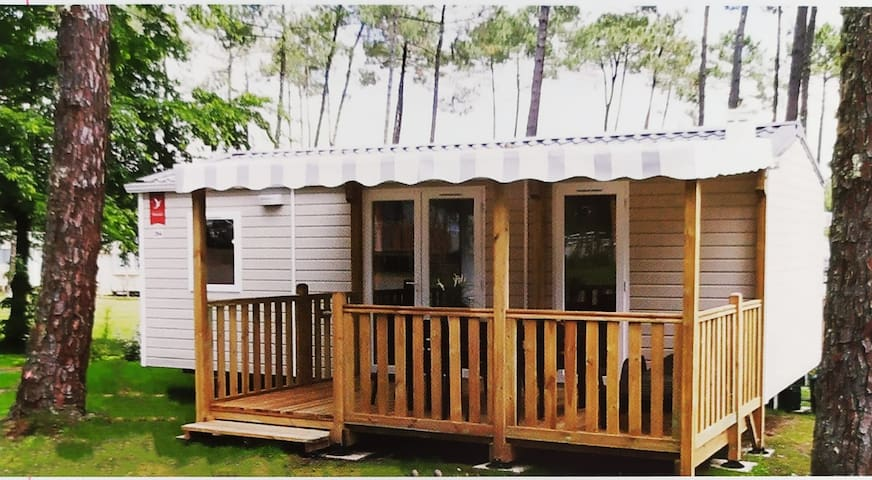 Mobilhome neuf camping 4*