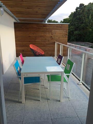 Apprt terrasse, 5min centre - Perpignan - Huoneisto