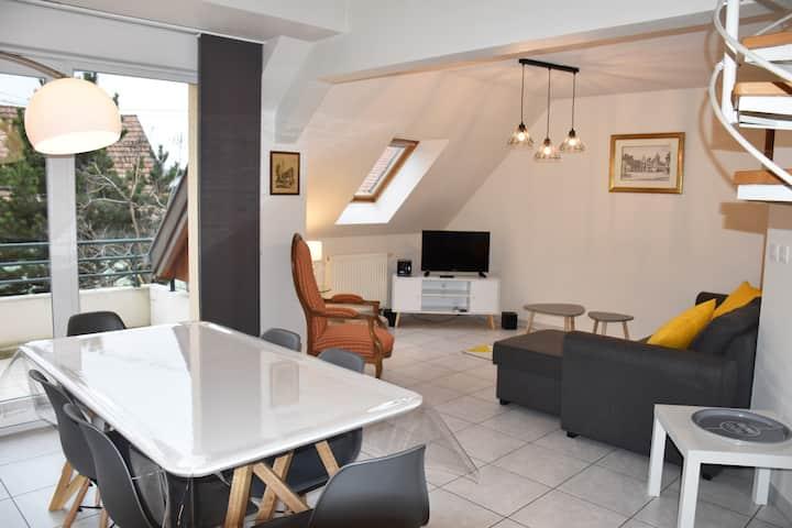 Appartement spacieux près de Colmar