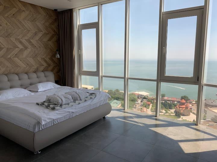 A&T Sea view apartment , Odessa, Arcadia