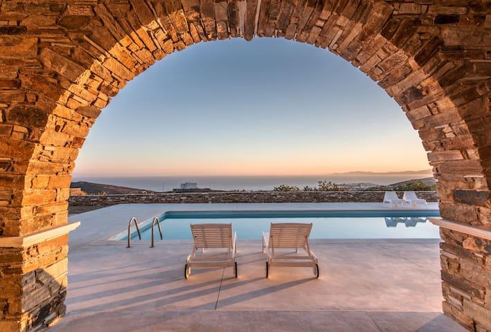 Blue Serenity Villa Tinos