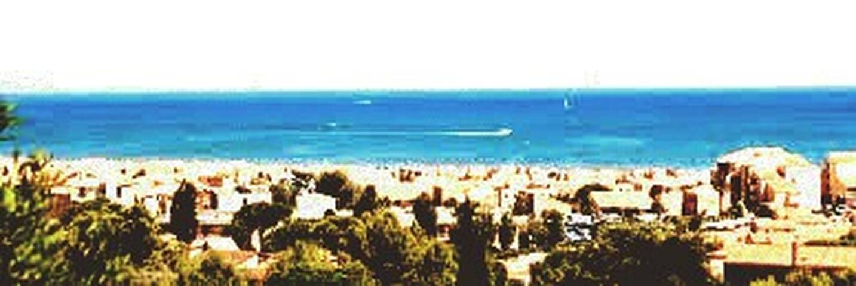Vue sur mer    à Saint Pierre la Mer