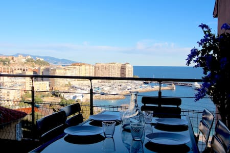 Monte Carlo, Sea & Beach View with Parking #21