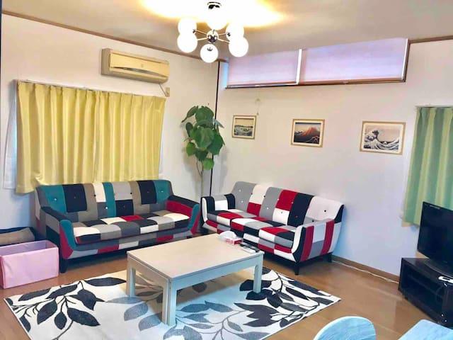 3bed rooms/easy-access/Ueno/Shinjyuku/Ginza/wi-fi