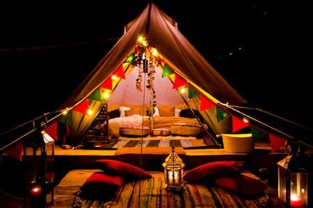 Ivy @ HushNEST x Chakrata : Luxury Camping
