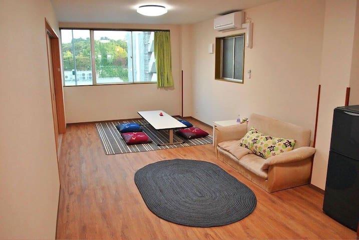 大阪城前屋民宿。303。歡迎多人數家庭旅遊、學生畢業旅行、少人數也歡迎 - 大阪市 - Haus