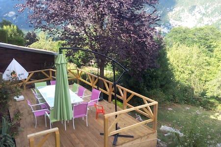 maison à 500m du lac d'aiguebelette - Novalaise - Haus