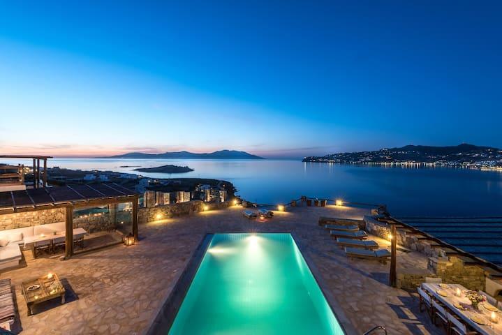 Villa Kanalia Mykonos Summer House - Míkonos - Villa