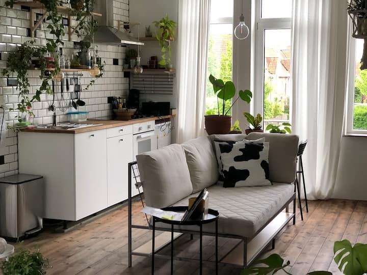 Cosy Green Studio Ghent