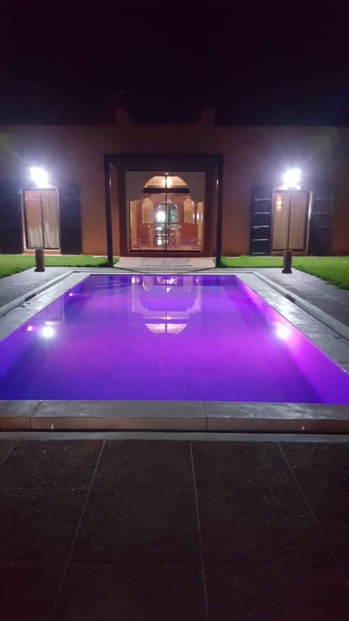 Marrakech-piscine-clim-wifi-parking