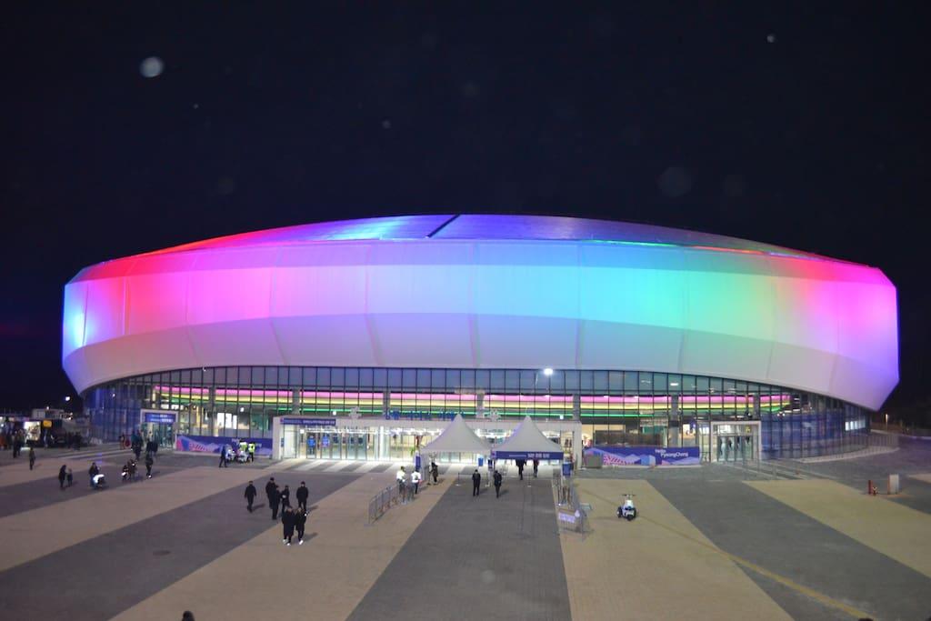 강릉아이스아레나 Gangneung Ice Arena