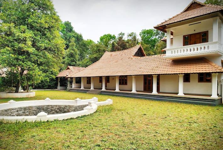De Nutmeg Villa - Heritage, Plantation & Backwater