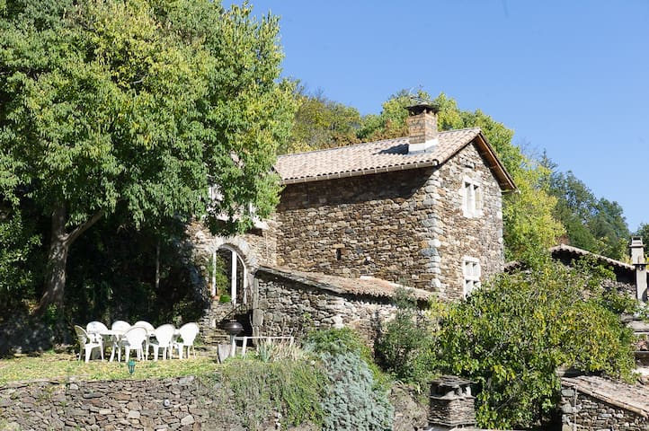 Gard,France,charm house in Cevennes
