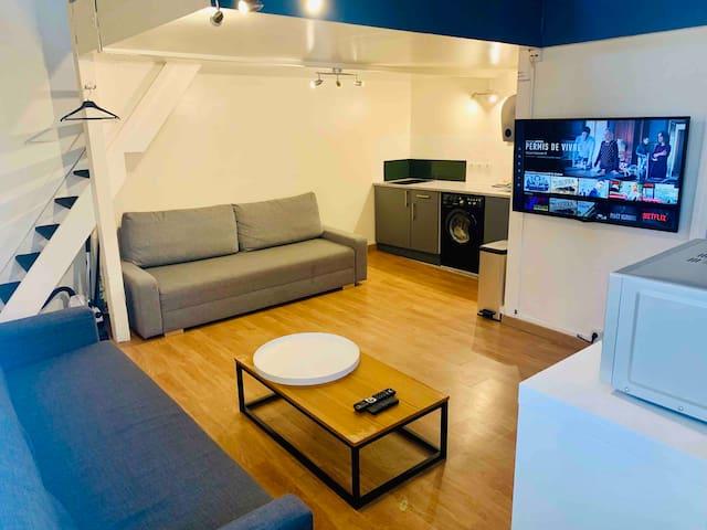 Duplex Equipé Calme et Bien Situé