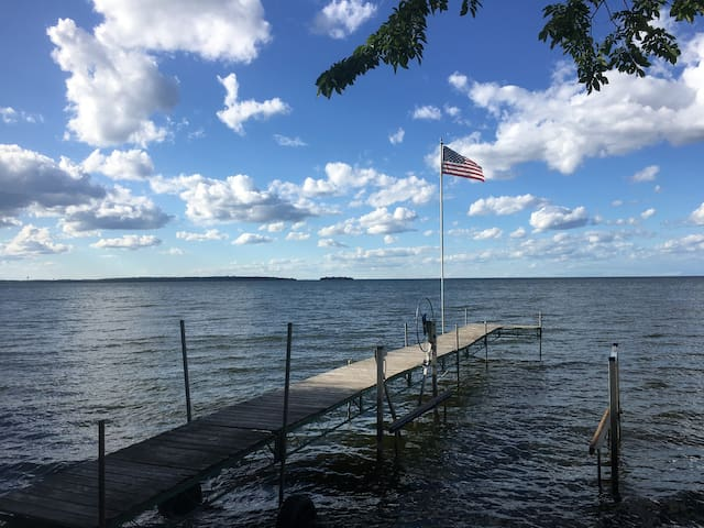Private lake House Sw Mille lacs lake