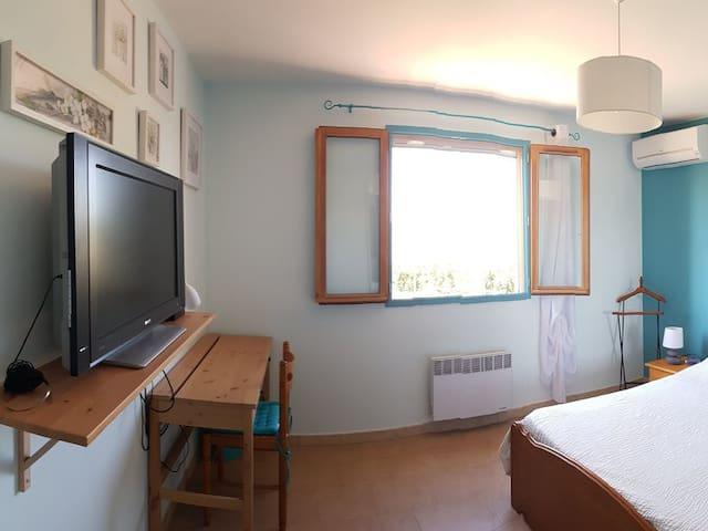 Belle chambre meublée à la campagne