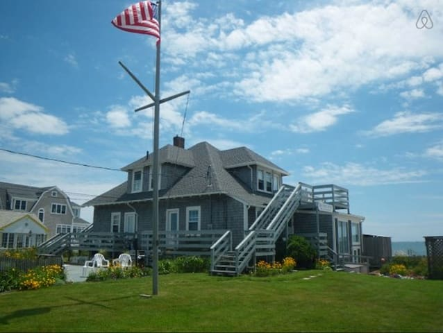 7 Bedroom Beach House. Private Beach.  Sleeps 19