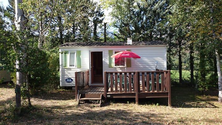 4 pers Mobile Home camping Pyreneeen ZuidFrankrijk