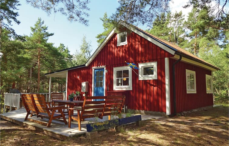 Holiday cottage with 2 bedrooms on 67 m² in Yngsjö