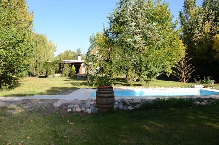 Casa de Campo De Piedra y Madera