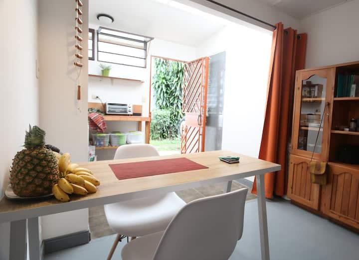 Nice studio near green areas