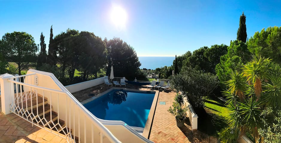 Top Cliff Villa - Uniqe oasis, amazing sea views - Luz - Villa