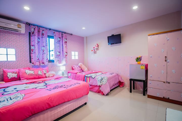 Mėnulis Coolly House # Kitty Room