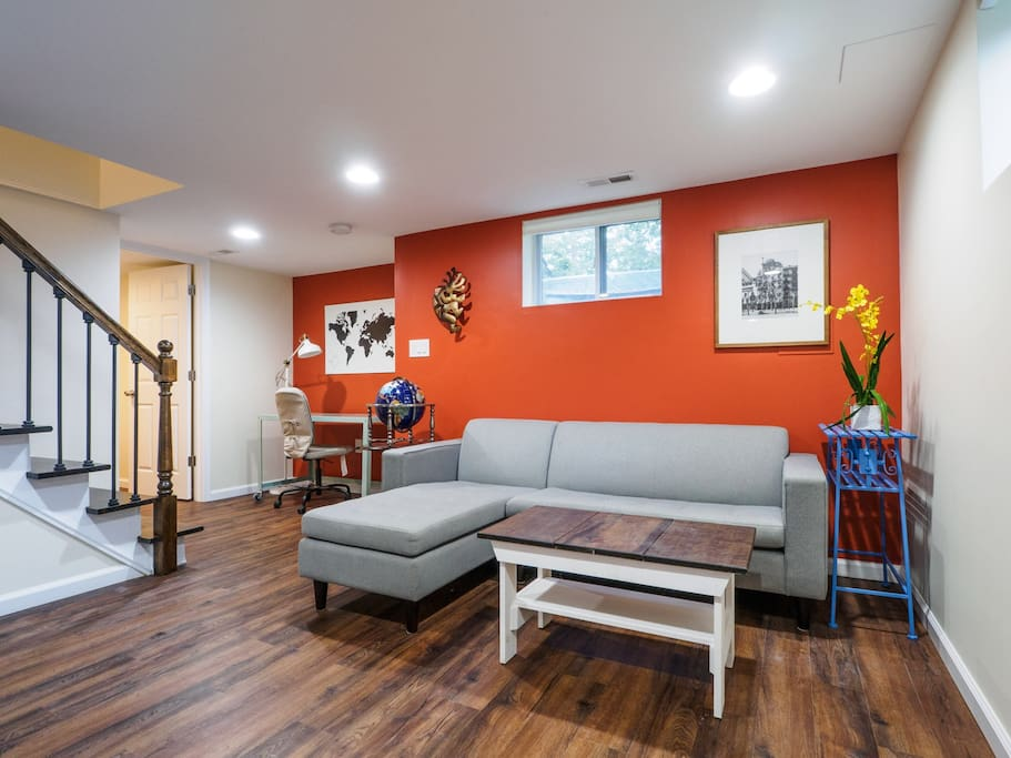 Spacious Basement Apt In Wooded Retreat Near Metro For Rent In Silver Sprin