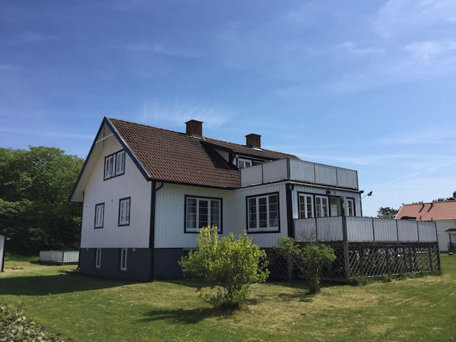 Nice flat with terrace on the  Island Koster.
