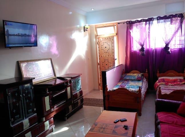 Appartement espace propre avec wifi