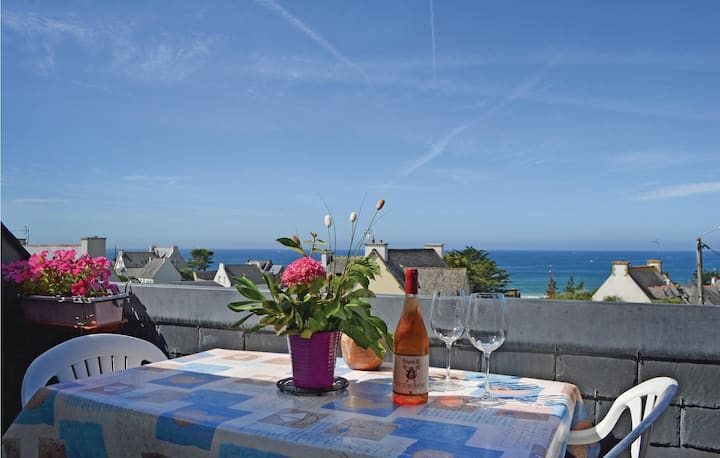 Holiday apartment with 1 bedroom on 45m² in Clohars Carnoet