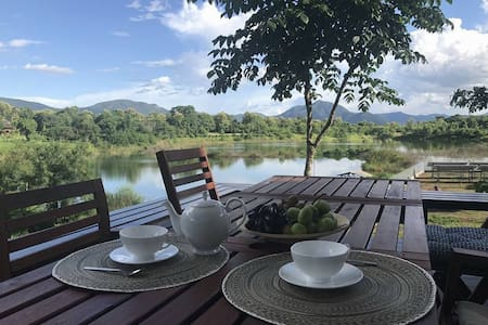 Lake & mountain view villa– ChiangMai HotSprings