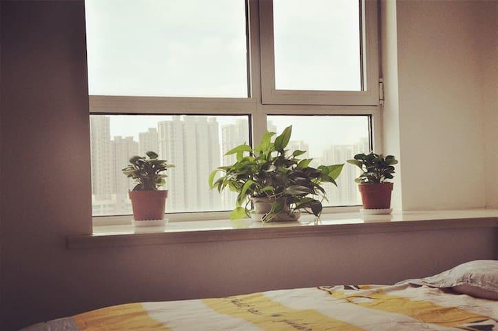 乐客公寓温馨风尚房 - Qingdao - House