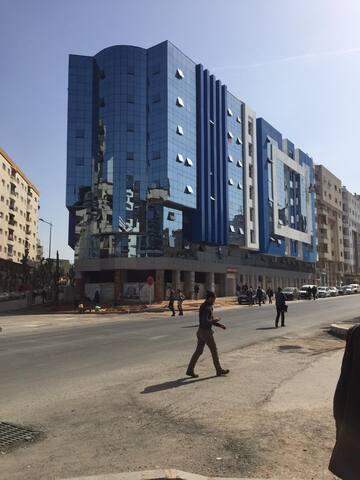Location Appt 121m² à 3min de la gare de Kénitra