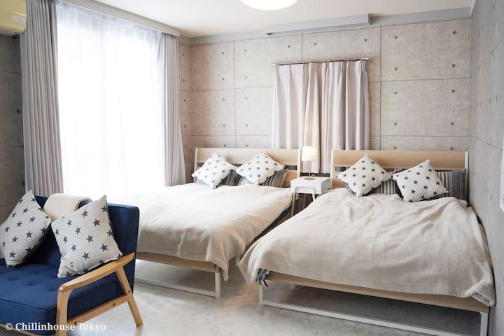 New!!! cozy&calm place near Asakusa/Akihabara