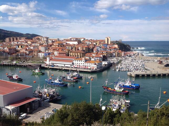 Piso vistas al mar.Totalmente equipado ,WIFI. - Bermeo - Appartement