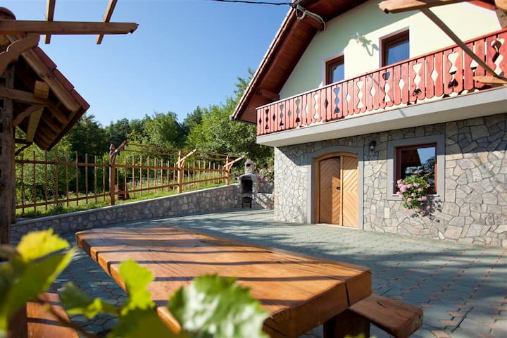 Vineyard cottage Luštek