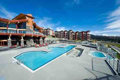 West Kelowna-Lakeview 1bedroom condo with pool
