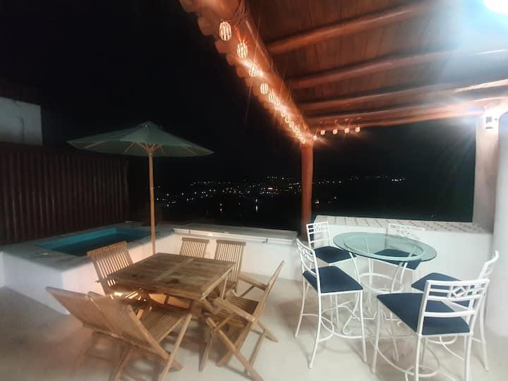 Casa con la más bella vista al mar de Ixtapa Zihua