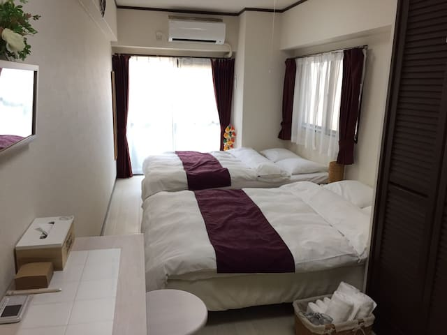 6* Near attractions and tram station!Wi-Fi★Clean!! - Naka-ku Hiroshima-shi