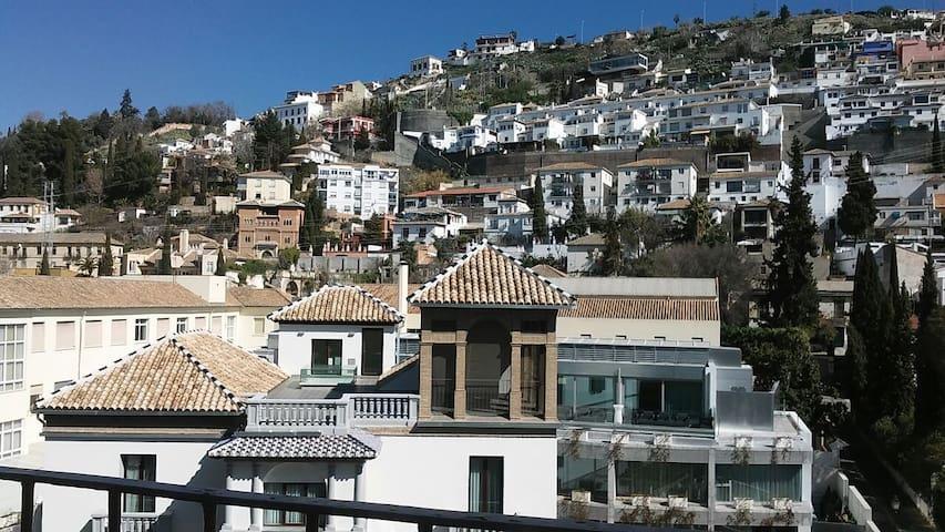 Confortable double room near the river - Granada - Apartamento