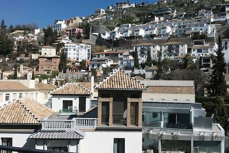 Confortable double room near the river - Granada - Apartemen