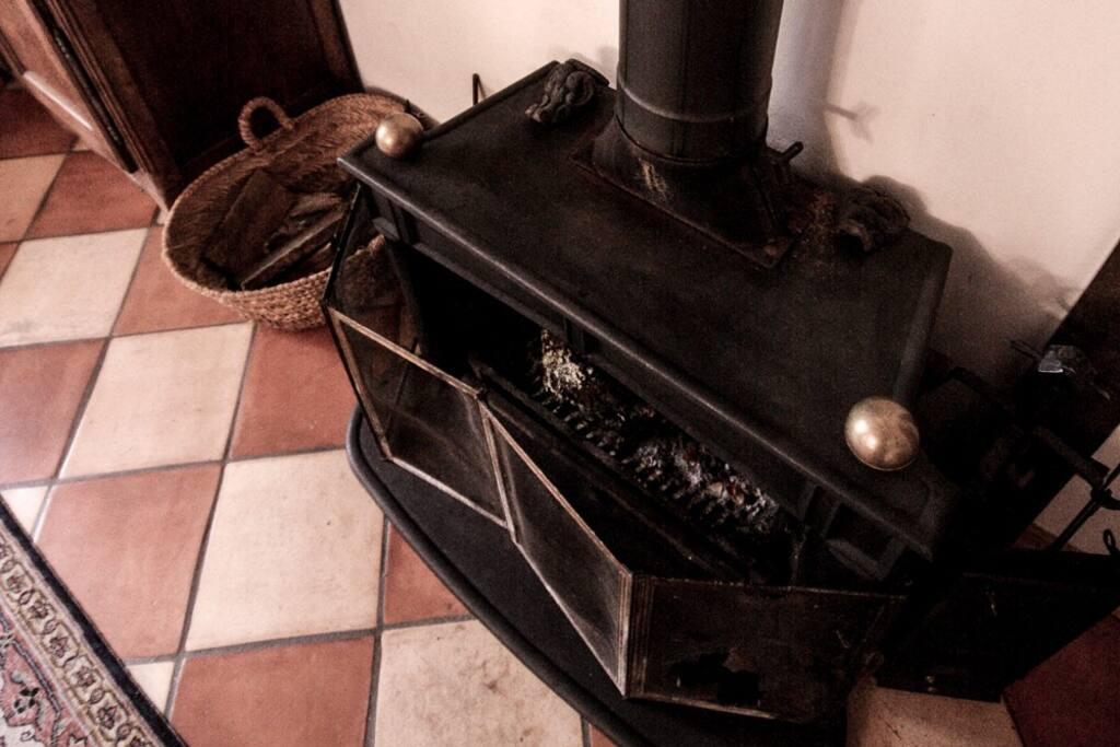 Poêle cheminée