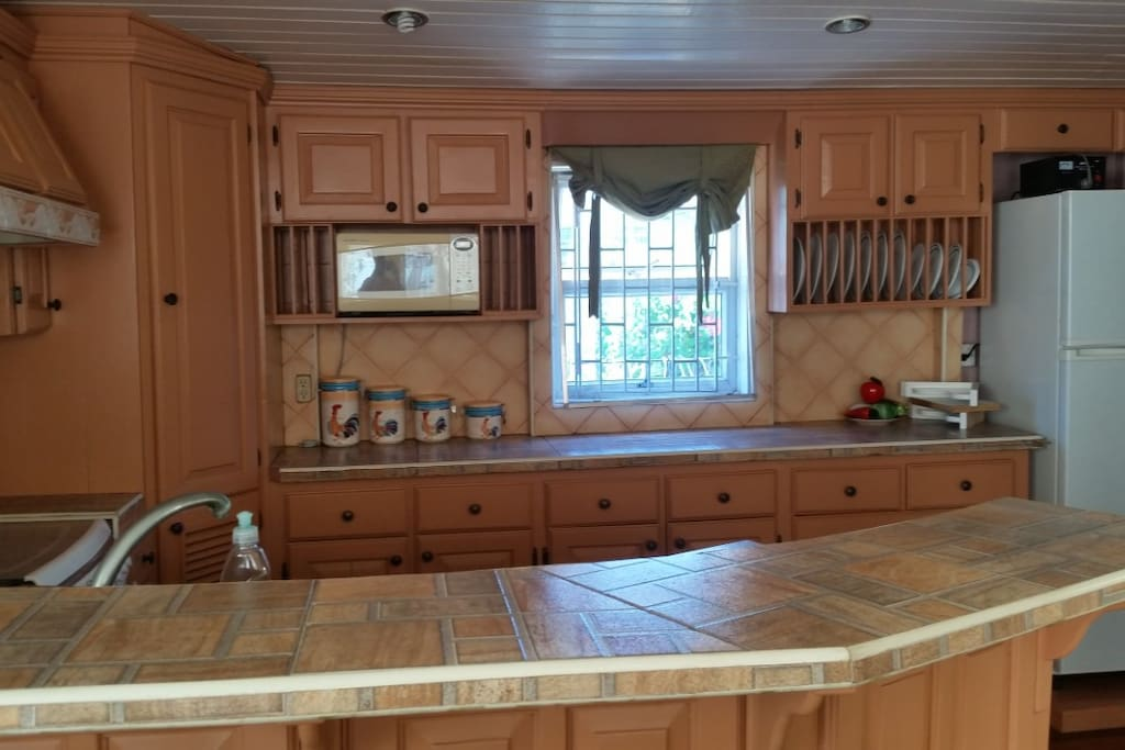 beautiful remodeled kitchen fully furnished House #1