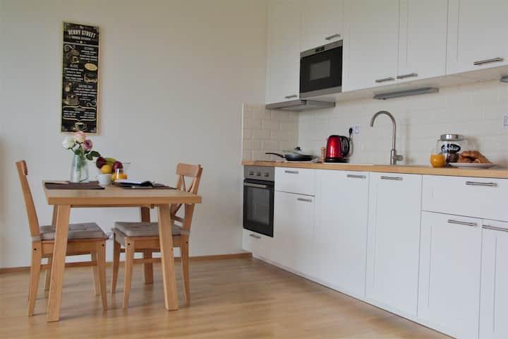 Cozy flat near the city center•Уютная студия