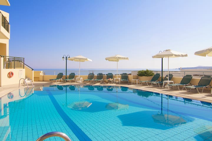 Family Apartments, beach accessible! - Rethymno - Apartment
