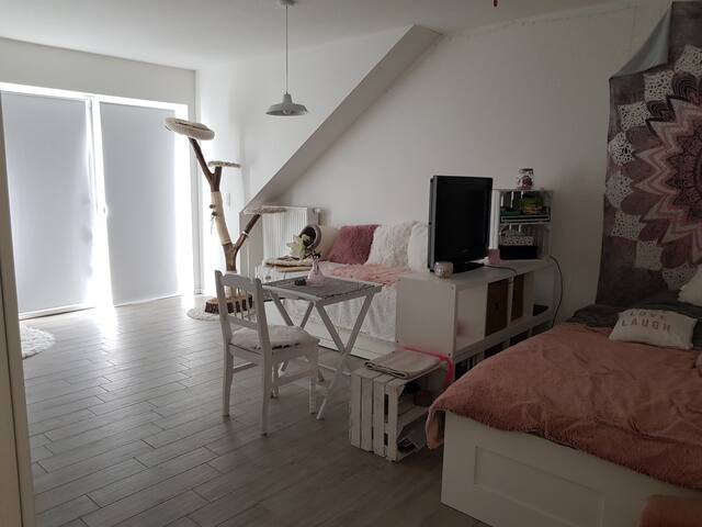Helle Neubau-Dachgeschosswohnung